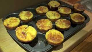 Savory Muffins: Roasted Red Pepper And Feta