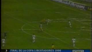 Barcelona 1 - Olimpia 1 - Final de la Copa Libertadores 1990 Resumen