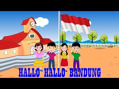 Halo halo bandung | Lagu Anak TV | Patriotic Song in Bahasa Indonesia