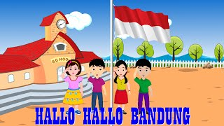 Halo halo bandung | Lagu Anak TV | Patriotic Song in Bahasa Indonesia