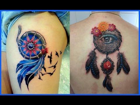 Los Mejores Tatuajes De Atrapasueños Youtube