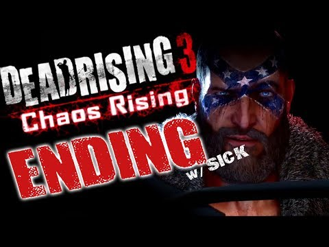 dead rising 3 how to get tragic ending
