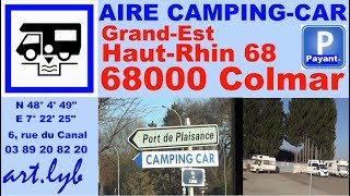 68 Aire Camping-car Colmar Alsace Hello!camping car
