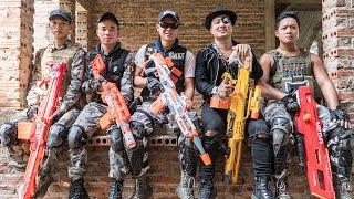 LTT Game Nerf War : Captain Warriors SEAL X Nerf Guns Fight Inhuman Group Revenge Succeed