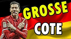 GROSSE COTE DE 5 EN BUNDESLIGA (Pronostic Football)