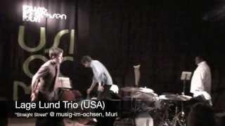 """Lage Lund Trio """"Straight Street"""" @ musig-im-ochsen, Muri"""