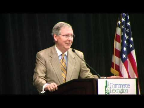 U.S. Senator Mitch McConnell talks about the mid-term elections 2010