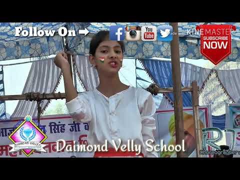 Saheed Bhagat singh || Best theme dance || 1st position || Diamond valley school (achina taal )