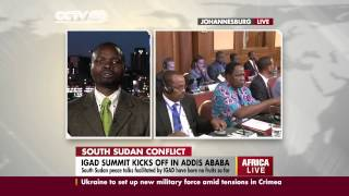 Dr Westen Shilaho on IGAD Summit and conflict in South Sudan