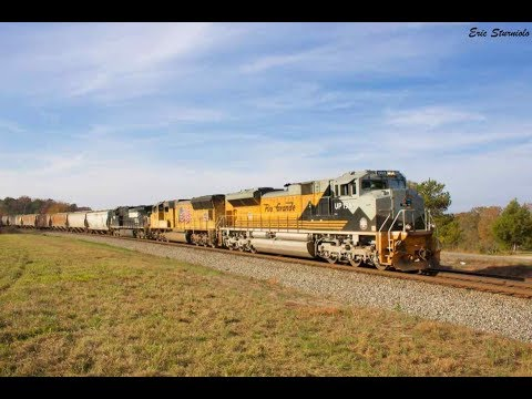 1080p HD: UP 1989 Rio Grande Heritage Unit Visits the Peach State - December 3, 2017