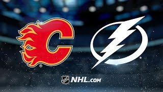 Smith, offensive outburst lead Flames past Bolts, 5-1