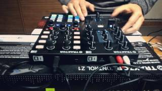 Native Instruments Traktor Z1 & Traktor X1 mk2 | Tech-house March Set