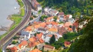 Die Stadt Königstein (Sächsische Schweiz)