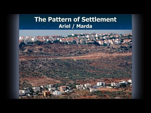 Osher UCSD: Lords of the Landscape: Israeli Settlements
