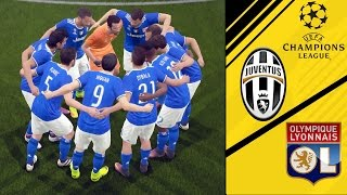 Uefa Champions League: Lyon vs Juventus/18.10.2016/Pre-Match FIFA 17 GAMEPLAY HD