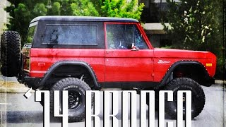 1974 Ford Bronco Red