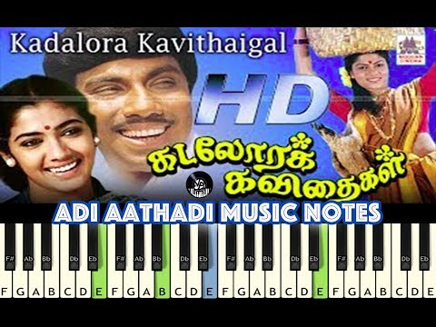 Adi Athaadi, Are Emaindhi (telugu), Piano, Guitar, Saxophone, Voilin Notes/Midi Files /Karaoke