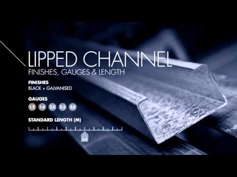 Textor Metal Industries - Lipped Channel