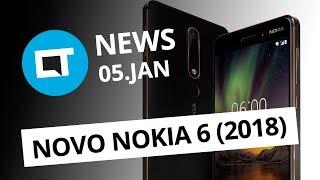 Demissão na festa da firma; Nokia 6 2018 anunciado; HP anuncia recall [CT News]