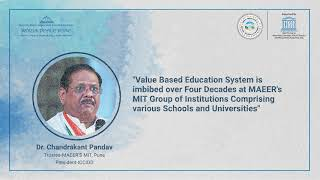 Session 1 - 'Need to Promote Value Based Universal Education System'