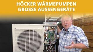Außengeräte Teil 1 | Höcker Wärmepumpen