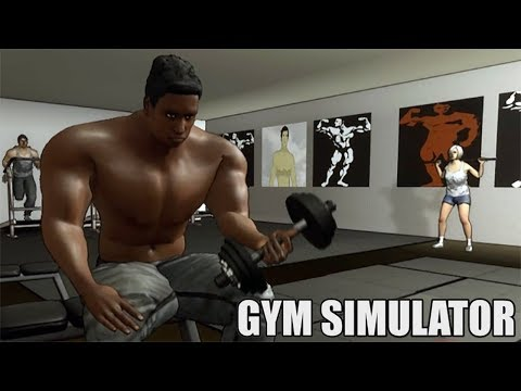 видео: КАЧАЛОЧКА  Gym Simulator