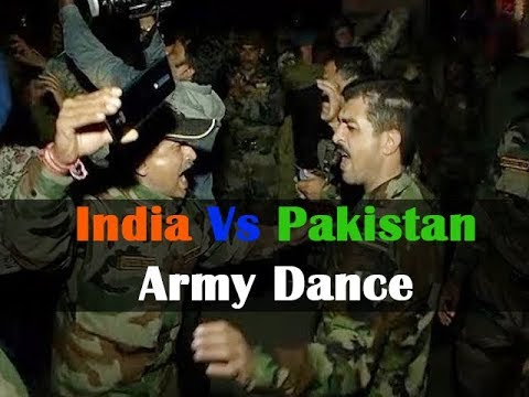 India Pak Army Dance On Punjabi Song Tera Sara Gussa