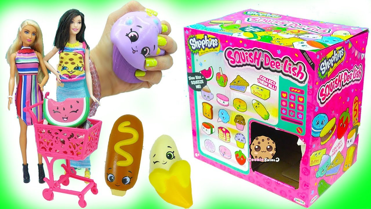 Squishy Haul From Thailand : Squishy Squish Dee Lish Shopkins Surprise Blind Bag Squ... Doovi
