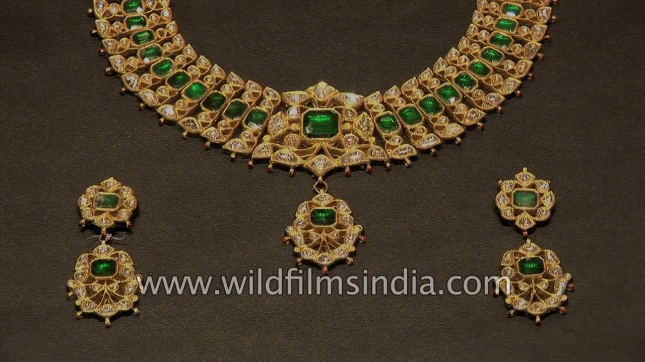 Jewellery Making In India Kundan And Meenakari Enamel
