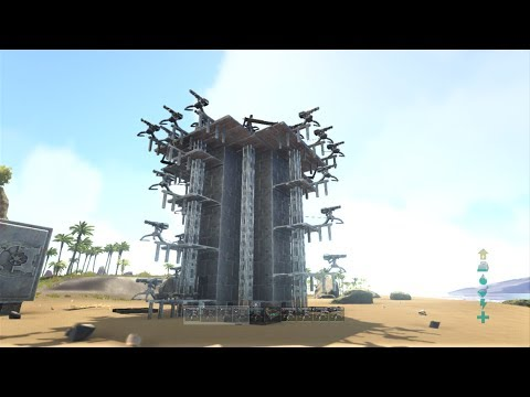 ark how to take out turrets 2017