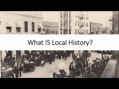 Mod 1.2 What IS Local History