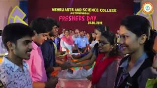 Fresher's Day – 2019 Nehru Arts and Science College – Autonomous