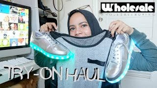 TRY-ON CHEAP ONLINE SHOP HAUL | WHOLESALEBUYING | INDONESIA | dinidinda