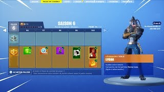 ON BUY THE SAISON COMBAT PAS6 6 on FORTNITE BATTLE ROYALE!
