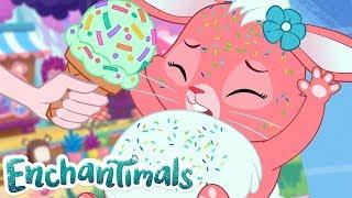 Enchantimals Россия Хаос мороженого Забавные истории ОБОБЩЕНИЕ мультфильмы для детей