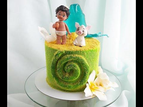 Как украсить торт бисквитной крошкой