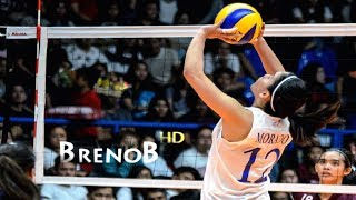 TOP 10 Best Actions by Jia Morado  JIAMAZING  Volleyball Setter  BrenoB