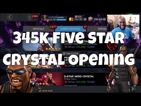 345k Five Star Blade Opening  l  Marvel Contest Of Champions
