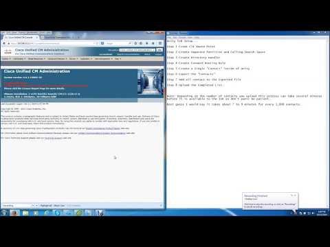 Cisco Unity Connection IVR Interactive Voice Response Complete Setup