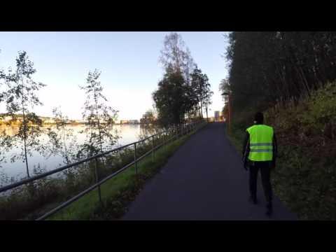 Sunnuntaiajelu Jyväskylän Rantaraitilla