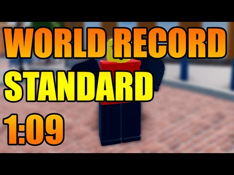 * WORLD RECORD * ROBLOX ARSENAL STANDARD (1:09)
