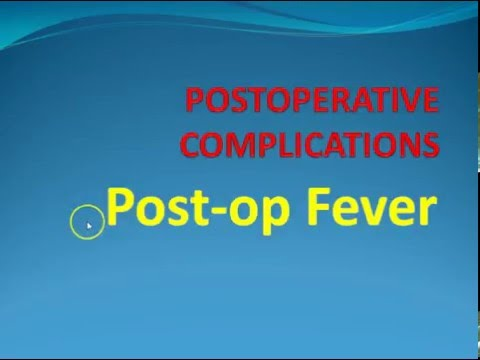 Surgery 2 Postoperative Fever