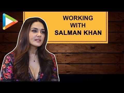 """Preity Zinta: """"Its always a PLEASURE to work with Salman Khan""""  Bhaiaji Superhit Talking Films"""