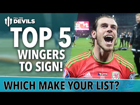 Top 5 WINGERS to BUY! | Manchester United Transfer Targets