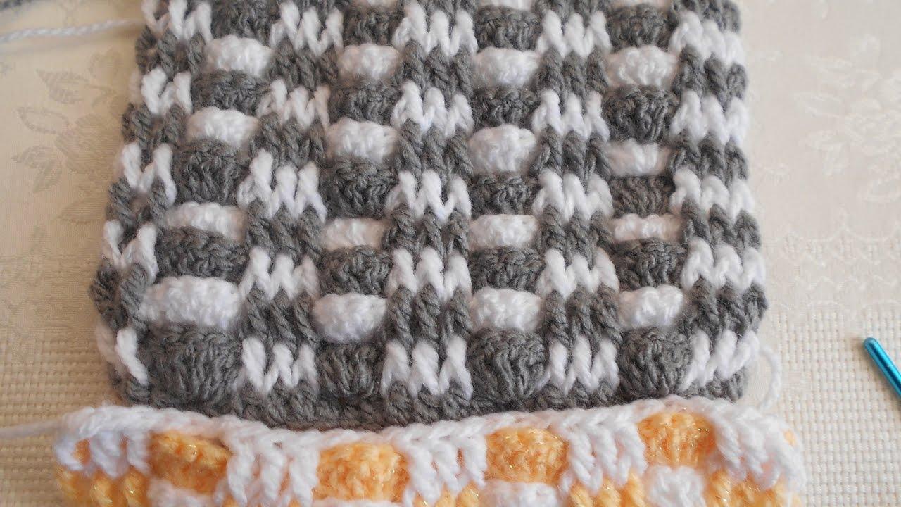 Punto fantas a en crochet f cil y r pido punto para - Manta de crochet facil ...
