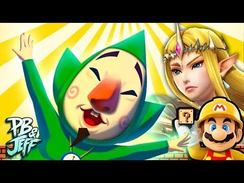 ZELDA: TEMPLE OF TINGLE   Super Mario Maker