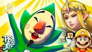 ZELDA: TEMPLE OF TINGLE | Super Mario Maker