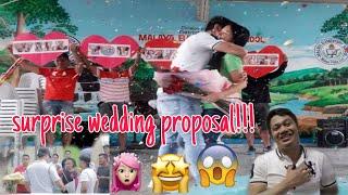 OFW Surprise Wedding Proposal to a TEACHER