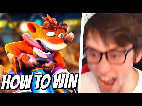 How to win online in Crash Team Racing