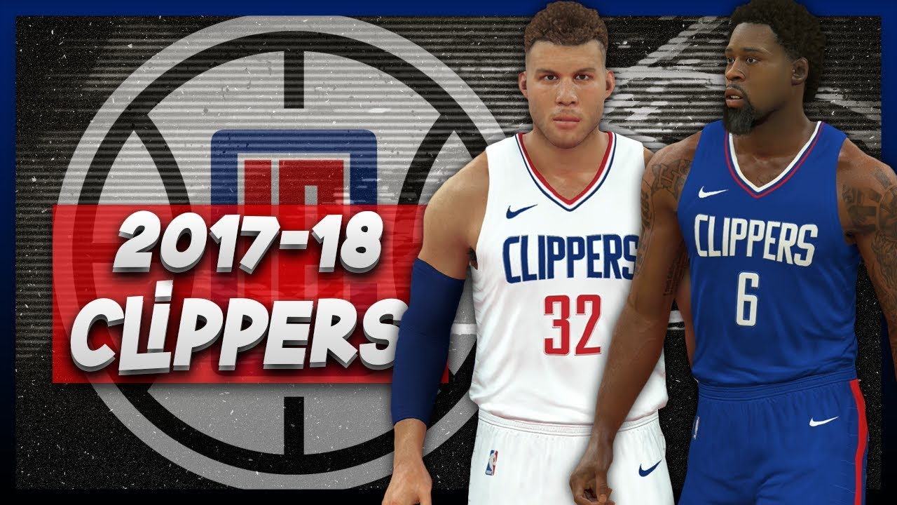 big sale 1ac4d bcd93 NBA 2K17 2017-18 Los Angeles Clippers Nike Jersey Tutorial